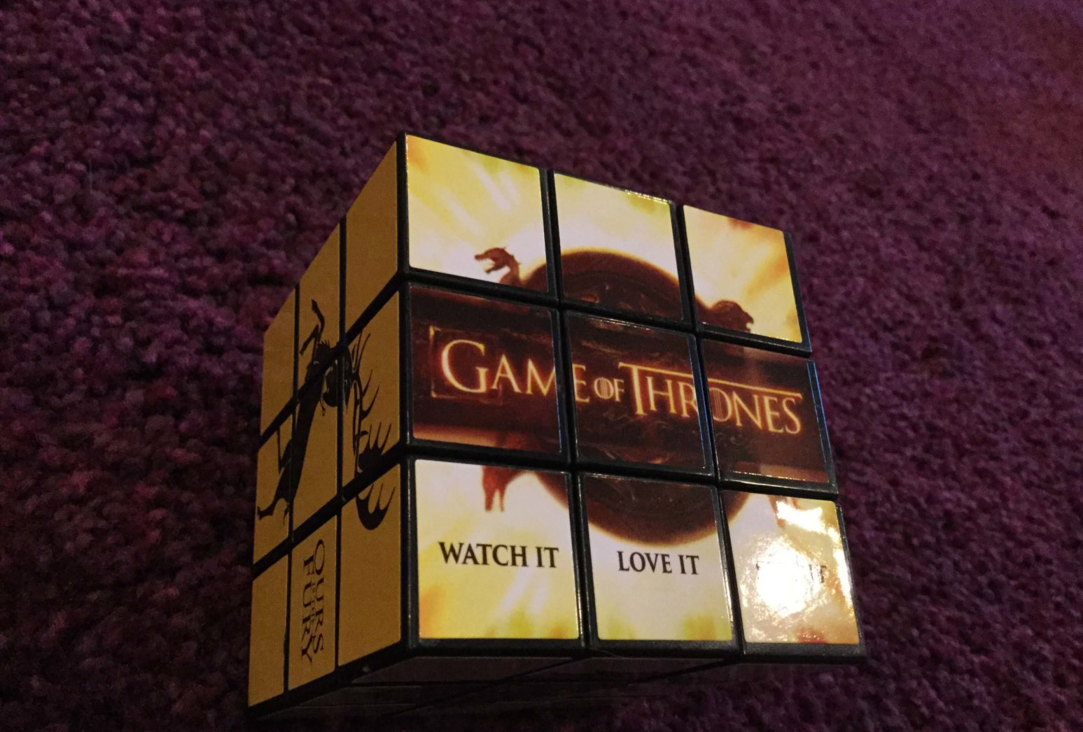 HBO GoT Rubik's Cube