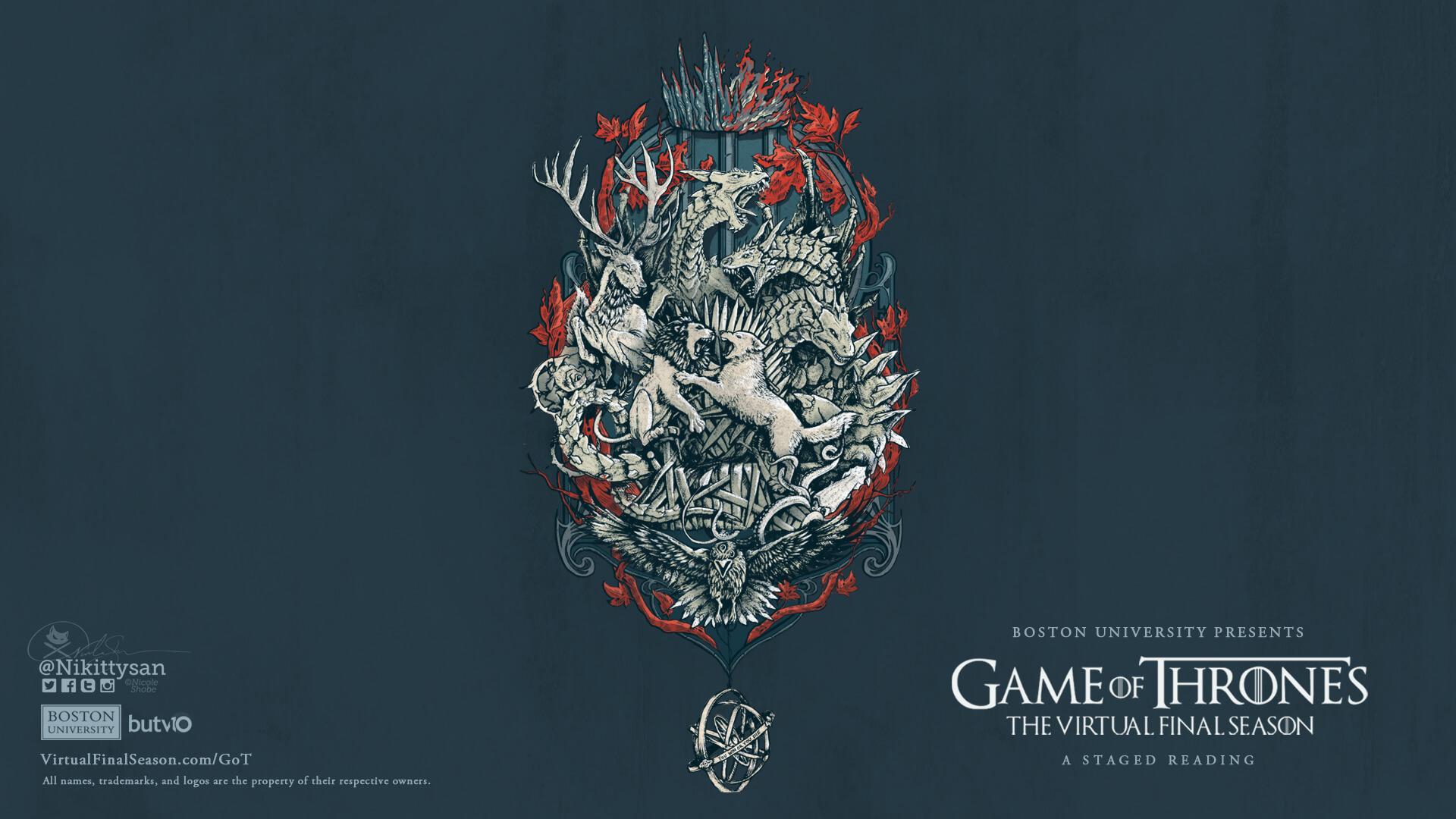 Home Game Of Thrones Season 8 From Boston University