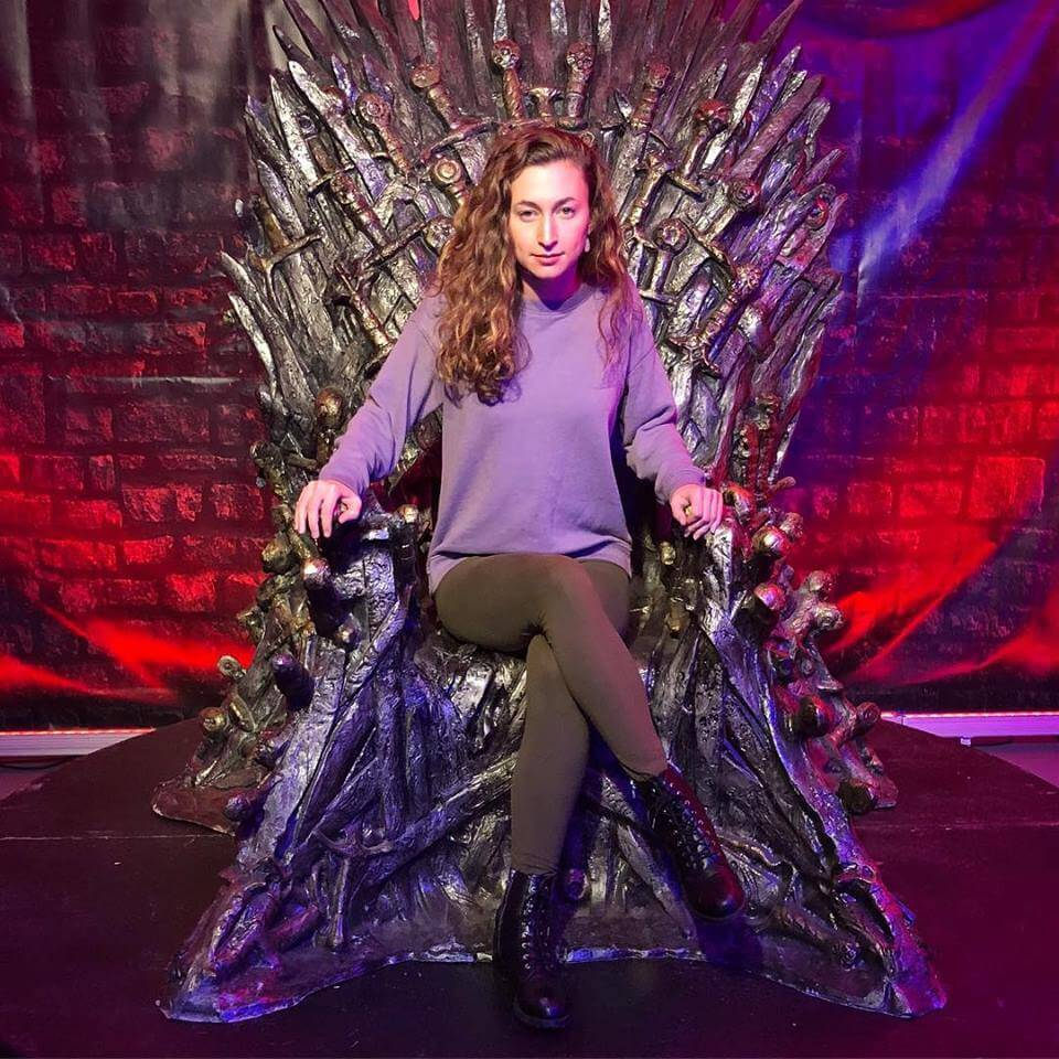 Alexandra Cooney reigns from the Throne