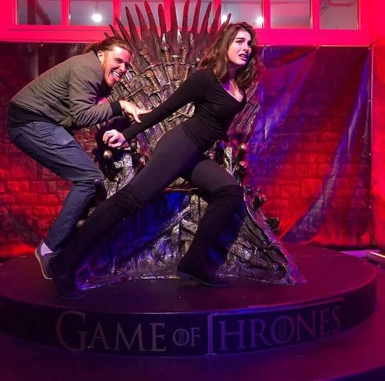 Our Euron and Yara at the Throne